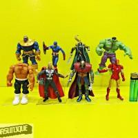 Action Figure Marvel Universe isi 8 pcs