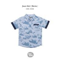 Hey Baby Jason Shirt Marine Kemeja Bayi