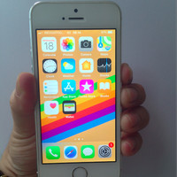 HP Second iPhone 5S - 4G Silver 16GB Original Ex iBox Resmi Indonesia