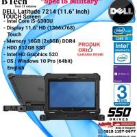 DELL Latitude 7214 Rugged Intel Core i5-6300U/16GB/512GB SSD/Win10Pro