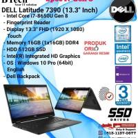 """DELL Latitude 7390 2 in 1 (13.3"""" Inch) Core i7-8650U/16GB/512GB SSD"""