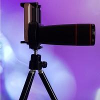 Lensa 12X Telezoom Universal Mobile Phone Zoom Lens