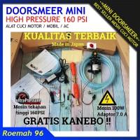 Harga alat cuci motor mobil ac portable murah mini doorsmeer pompa | Hargalu.com