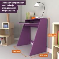 Pro Design Online Meja Kerja PURPLE (STPDK JB)