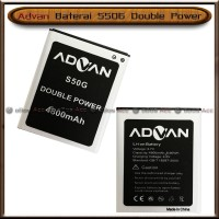 Baterai Advan S50G S 50 G Double Power Batre Batrai HP