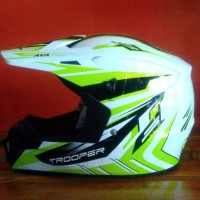 Helm MX Cross Trooper AVA (bonus Helmet Pads Cleaner)