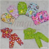 Piyama Kancing Rysya / Baju Tidur Anak Katun Catra