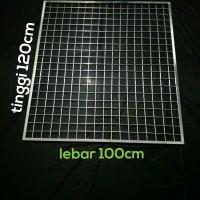 ram jaring kotak 120x100