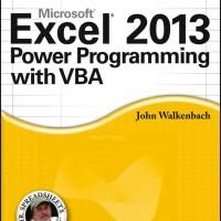 Excel 2013 Power Programming with VBA - John Walkenbach