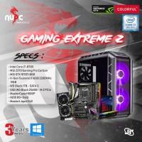 Komputer Rakitan PC Gaming NuPC - Gaming Extreme Z Intel I7 78 Diskon