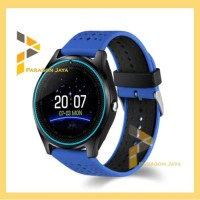 Smart watch V9 - Smartwatch V9 Jam Pintar Sport Watch Biru - Merah