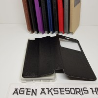Flipcover UME Andromax R2 / E2 Sarung HP / Leather Case Smartfren