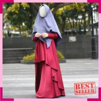 IBIS DRESS wanoja hijab - Gamis Maxmara Pesta Syari Busui Friendly