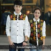 Kemeja couple batik formal serasi - baju pasangan model Berkualitas