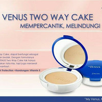 Marcks' Venus Two Way Cake - Marcks Venus Bedak Padat