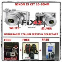 Harga big sale nikon j5 kit 10 30mm mirrorless digital camera   Pembandingharga.com