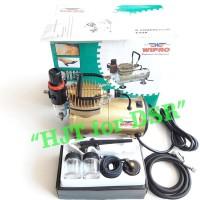 Paket Mini Kompresor Wipro + Airbrush Ab138 Einhill