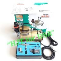 Paket Mini Kompresor Wipro + Airbrush Ab134 Einhill