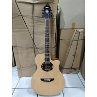 Gitar Akustik Elektrik Merk Yamaha Apx500 Eq Toner Bonus Tas Kabel Jac