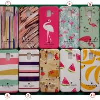 Case Vivo V7 Luxury Katesade NY Soft Imd TPU Slim Back Cover Casing Hp