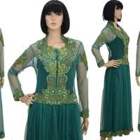 Kebaya muslimah hijab setelan panjang modifikasi gaun pesta wisuda