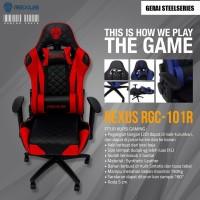 Kursi Gaming Rexus RGC101 Merah Chair Seat Komputer