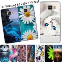 W Case 55 - Untuk Samsung Galaksi A3 A5 2016 Casing A310F A510F Sarung