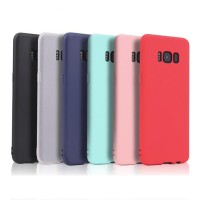 S Case 19 - Permen Warna Silikon Ponsel Case PENUTUP UNTUK Samsung Gal