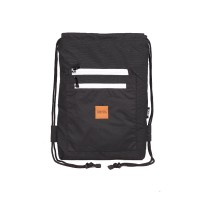 (HITAM) Tas Serut String Bag Drawstring Bag
