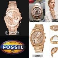 Dijual Jam Tangan Wanita Fossil ES3885 - ES3884 Perfect Boyfri Diskon