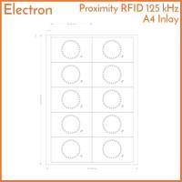 Proximity A4 Inlay RFID 125 kHz Card Tag TK4100 EM EM4100 125kHz