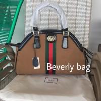 2996f423963 Jual Ready tas Gucci Rebelle Suede Top Handle LEATHER MIRROR - hitam Murah