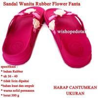 Sandal Branded Wanita Flower fanta