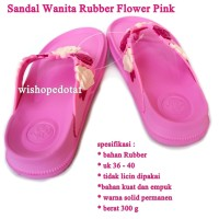 Sandal Branded Wanita Flower baby pink