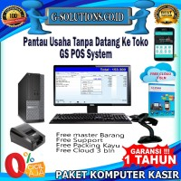 paket komputer kasir full set |paket kasir |program toko full set