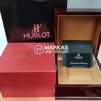 Box Jam Tangan HUBLOT Wood Set ORIGINAL