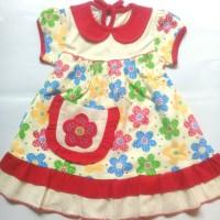Baju Dress anak perempuan Sakura ( 1-2 tahun )
