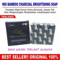 BAMBOO CHARCOAL BRIGHTENING SOAP MSI #SABUN ARANG BAMBU #ULIVE BEAUTY