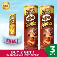 [Buy 2 Get 1] Pringles Smoky BBQ 107g FREE Pringles Cheesy Cheese 107g