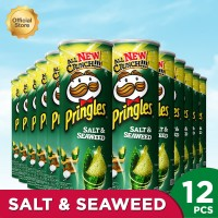 Pringles Salt & Seaweed 107gr (1 Carton - 12 Pcs)