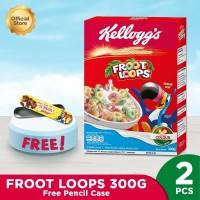 Kelloggs Froot Loops 300g Free Pencil Case