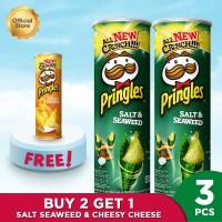 Buy 2 Salt & Seaweed 110gr Get 1 CheesyCheese 110gr