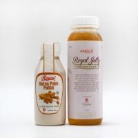 Harga paket promil serbuk kurma muda 60g madu royal jelly 340g   Pembandingharga.com