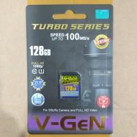 V-GeN SD card 128 GB Turbo | Memory card | Vgen