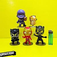 Figure Avengers Infinity War Thanos Gauntlet Black Panther
