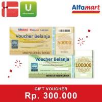 Voucher Alfamart Rp 300.000