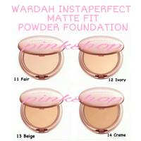 WARDAH INSTAPERFECT MATTE POWDER FOUNDATION COMPACT BEDAK PADAT HALAL