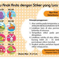Javan Bed Canopy - Sticker & Repair Kit Kelambu