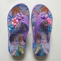 Sandal Jepit Anak Perempuan Sendal Karet Wanita Bunga Cewek Cantik