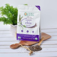 Organic Chia Seed – USA – Double Cleaned 453.6 Gr